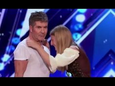 Simon Cowell Shows Amazing HEART Steps In To Save Dog Trainer | America's Got Talent 2017 - YouTube