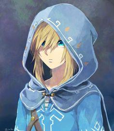 Jeu vidéo : Zelda / Princesse Zelda / https://twitter.com/_saiba_/status/875759400551555073