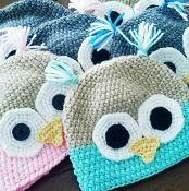 **SPECIAL** $1.40 Owl Hat/ Beanie - via @Craftsy