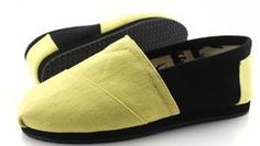 Toms latest Summer Candy Yellow black mixed colors