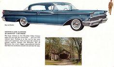 1959 Mercury Montclair 2 Door Cruiser Hardtop
