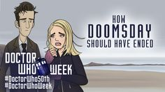 How the 'Doctor Who' Episode 'Doomsday' Should Have Ended