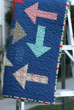 Every Which Way -- great for a little boy on the go quilt.