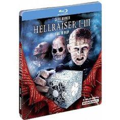 Hellraiser 1-3 : Limited Steelbook Edition UNCUT Blu-ray: Amazon.co.uk: Doug Bradley, Ashley Laurence, Sean Chapman, Anthony Hickox, Clive Barker, Tony Randal: Film  TV