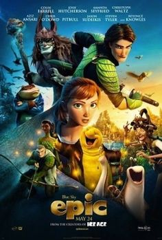 Epic 2013.  This movie was great except for the ending... MK and her dad could have both been shrunk and they could live with the tiny people!  Ta-da!  I would have preferred that.  Otherwise it was great!  The Book Thief still has me in tears... 2/9/14