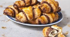 Rugelach recept (csokoládés) Hungarian Recipes, Hungarian Food, Something Sweet, Pretzel Bites, French Toast, Muffin, Sweets, Bread, Snacks