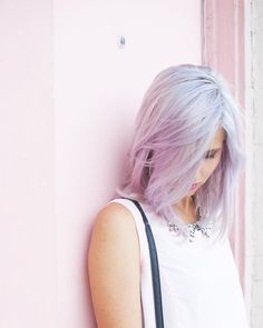 Season Of The Pastels: 2016 Pantone's Colors of the Year into Your Beauty Routine - Renewed Style Color Of The Year, Cut And Color, Rose Quartz Serenity, Lavender Hair, Pantone Color, Pantone 2016, Street Style, Love Hair, Hair Day
