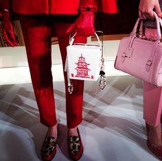 Kate Spade Chinese takeaway bag