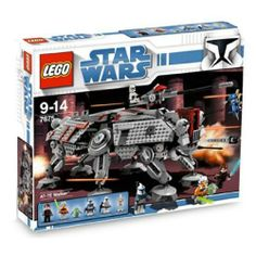 Lego - Star Wars AT-TE Walker, Stomp all over the Separatists! When droids attack, it's time to call in the mighty AT-TE! This powerful 6-legged walker features details straight from the Clone Wars, including positionable legs, mov..., #Toys, #Building Sets