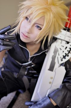 [nakoto] FINAL FANTASY VII ADVENT CHILDREN: Cloud Strife - Cosplayers' Cure