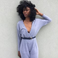 Isis from Atlanta in the Madeline Jumpsuit.