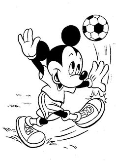Mickey Mouse Coloring Pages Online