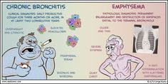 NREMT-B: Chronic Bronchitis vs Emphysema