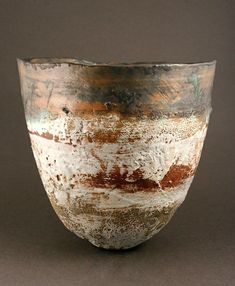 Large Conical Bowl by Rachel Wood - Stoneware Ceramic Bowls, Ceramic Pottery, Pottery Art, Ceramic Art, Earthenware, Stoneware, Wabi Sabi, Wood Images, Sculptures Céramiques