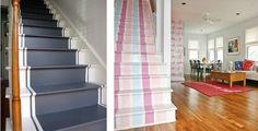 Cómo pintar una escalera y dar forma de corredor