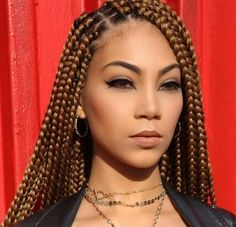 30 Awesome Ways To Style Your Bodacious Box Braids