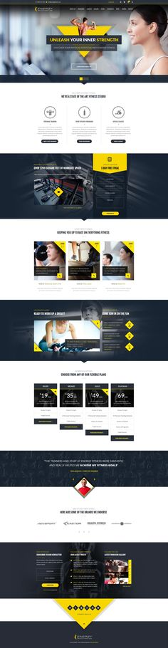 Barber Shop Dark Site #Muse #template. #themes #business ...