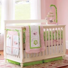 Sweet Songs 4-Piece Crib Set