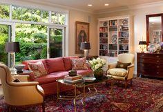 Lafayette Residence - traditional - Living Room - San Francisco - Kathleen Burke Design