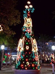 Navidades en Aguadilla, Puerto Rico Christmas in Aguadilla, Puerto Rico Outdoor Christmas, Christmas Lights, Christmas Time, Merry Christmas, Xmas, Christmas Ornaments, Christmas In Puerto Rico, Caribbean Christmas, Enchanted Island
