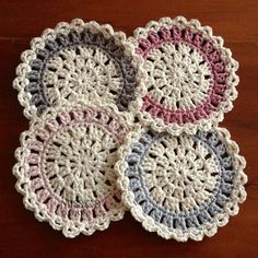 Ravelry: Contemporary Coaster by Daina Mickus