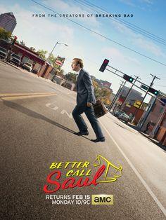 'Better Call Saul' Season 2 poster is full of 'Breaking Bad' goodies Breaking Bad, Best Series, Tv Series, Better Call Saul, Amc Networks, Jonathan Banks, Saul Goodman, Vince Gilligan, Netflix