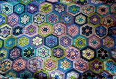 African flower blanket by susan.porter.31337