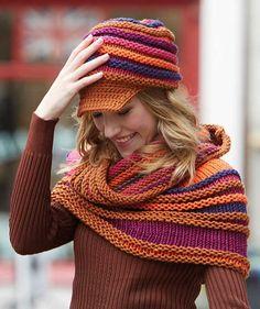 Shoulder Warmer - Free Knitted Pattern - (us.schachenmayr)