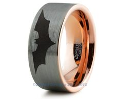 Batman Ring Comics Ring Fathers Day Gift Mens by ZealotDesigns