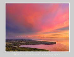 Northern Door County - Daniel Anderson Door County, Celestial, Mountains, Sunset, Nature, Travel, Outdoor, Outdoors, Naturaleza