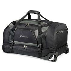 Vertex Tech Drop Bottom Wheeled Duffel. New TravelTravel BagsCool ... 57ba36f3e6886