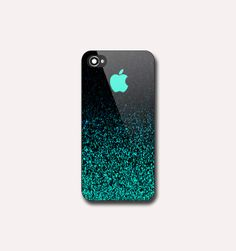 Mint Sparkle EA0111  Print on hard plastic  iPhone by ImagineCase, $14.00