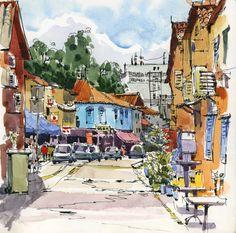 Urban Sketchers: Thank you Singapore