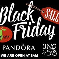 Don't miss our Black Friday Sale starting at 8am today! #pearhome #Shoplocal #Pandora #Sale #Unde50 #FirstSale #Orangeville