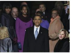 President Barack Obama Pauses & Takes In The Moment.... History.... Inauguration Day 2013....