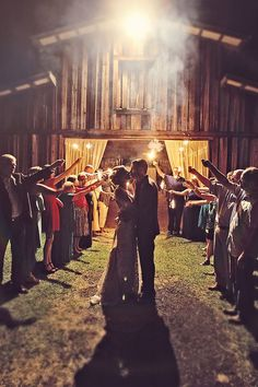 Rustic barn wedding in Jacksonville by christinakarstphotography.com