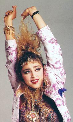 #Madonna By Francesco Scavullo. 1985
