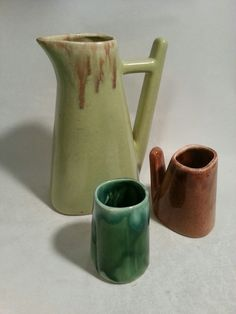 Claude Vermette Watering Can, Pottery, Mugs, Tableware, Ceramica, Dinnerware, Pottery Marks, Tumbler, Dishes