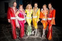 John Hemphill, Mary Callanan, Judy McLane, Victor Wallace, Alison Ewing and Paul DeBoy - Mamma Mia!