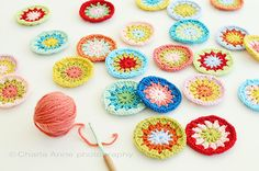 Pretty crocheted circles (CharlaAnne)