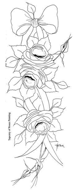 artist priscilla hauser | ... Рисование / Priscilla Hauser / Priscilla's Beautiful Roses