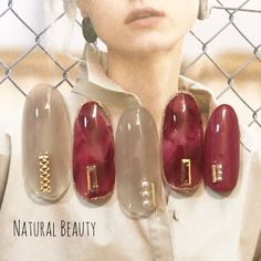 Bling Nails, Red Nails, Pink Nail Art, Nails 2018, Autumn Nails, Marble Nails, Soak Off Gel, Gel Nail Designs, Nail Inspo
