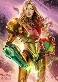Samus Aran Fan Art - Created by Ty Romsa