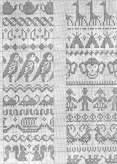 65 ideas for knitting charts border fair isles Fair Isle Knitting Patterns, Fair Isle Pattern, Knitting Charts, Knitting Stitches, Baby Knitting, Vintage Knitting, Free Knitting, Jaquard Tricot, Cross Stitch Borders