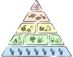 Die Low Carb Pyramide
