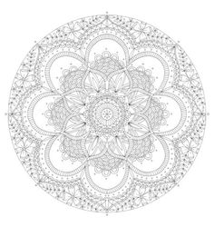 Lizzie Preston - Lizzie Preston - Floral Mandala 2