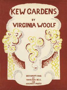 Kew Gardens- Virginia Woolf. Illustration by her sister Vanessa Bell