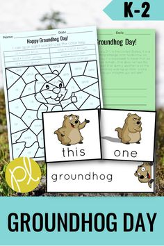 Happy Groundhog Day! If you're a busy teacher, but you don't want to skip the holiday - this set of activities has you covered! Perfect for small groups and independent centers, this Groundhog Day packet  includes sight word practice and games, writing prompts, vocabulary, and MORE! From Positively Learning #groundhogcenters