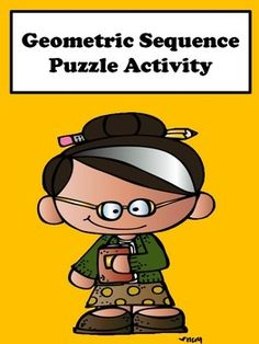 Geometric Sequence: Students will enjoy finding the explicit and recursive formula with this scrambler puzzle activity. This activity is great for remediation and differentiation.