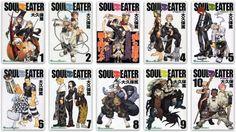 Soul Eater #1-10 Comic Set Japanese manga Atsushi Okubo